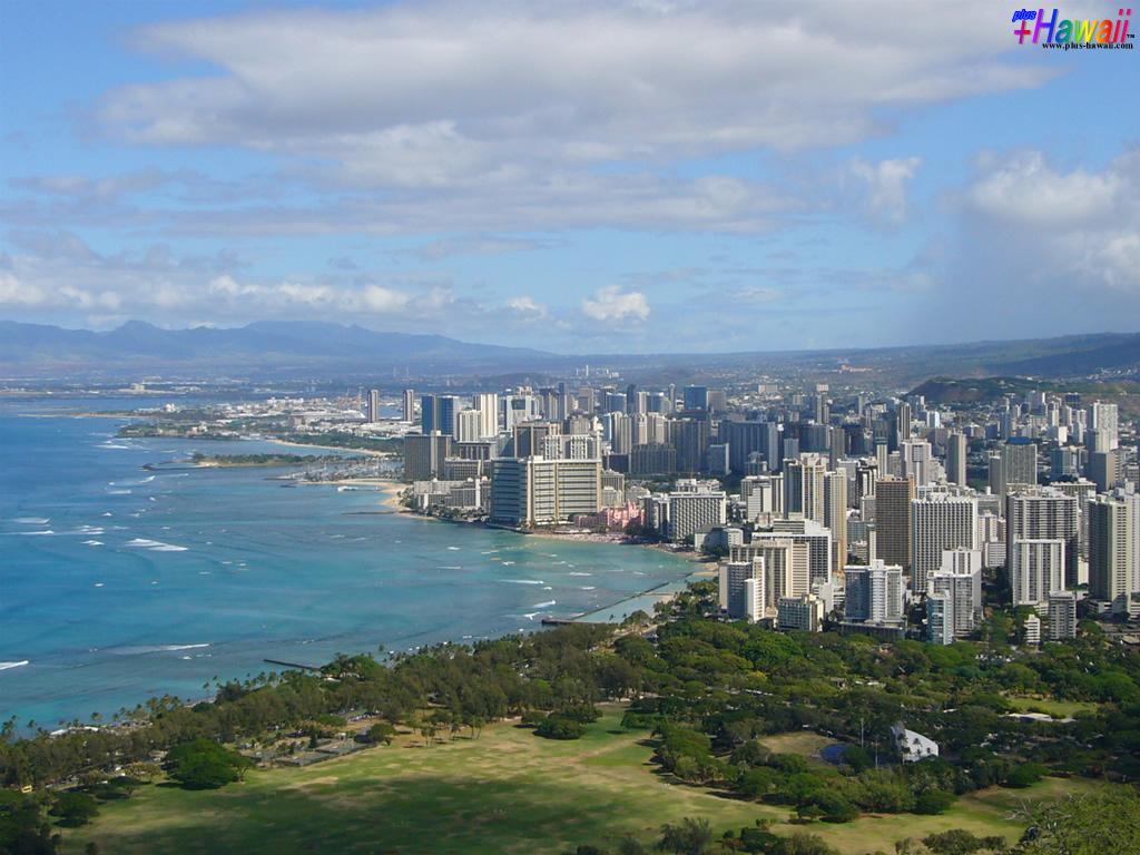 ハワイの壁紙 In The Paradise World 風景 ピンクのおへそ