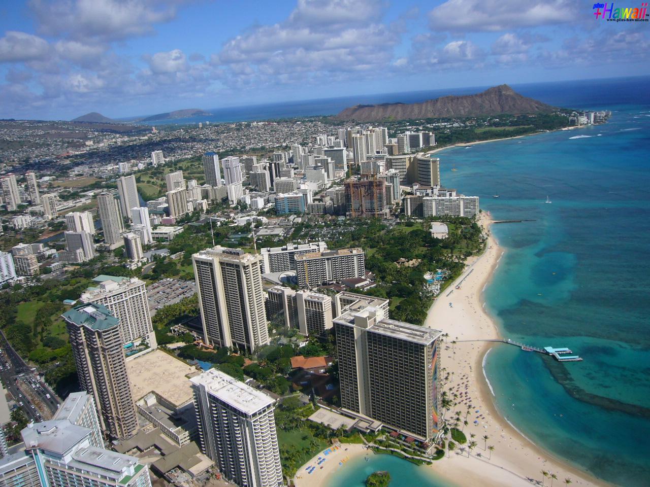 ハワイの壁紙 In The Paradise World 風景 ザ ワイキキ Hawaii